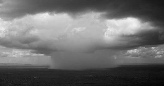 Storm over Tsavo